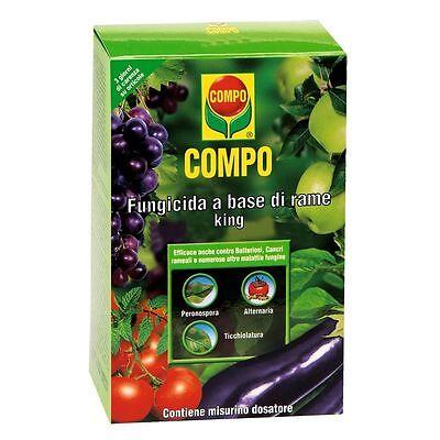 COMPO Fungicida a base di Rame King da ml 125 Compo anticrittogamico verderame