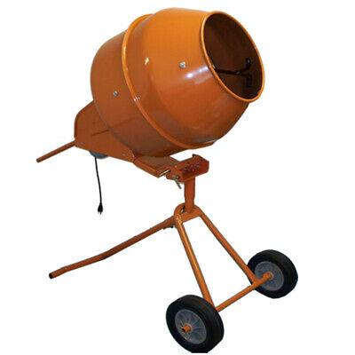 8 Cubic Ft. Tall Portable Cement Mixer Concrete Mortar Mixer