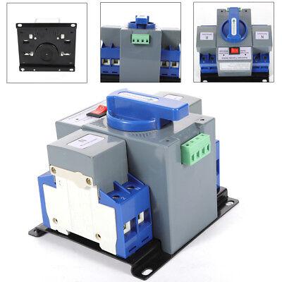 63a 2p Dual Power Automatic Transfer Switch Ac-33ib Cb Level Self Cast 110v Usa