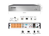 BRAND NEW ZOSI 720p 8 channel DVR BOX CCTV . remote access