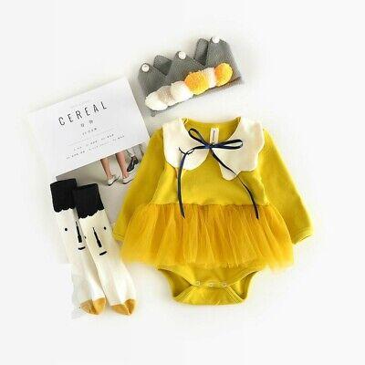 Baby Schwan Kleid Set. Größe 74/86.Geburtstagsgeschenk Geburtsgeschenk Mädchen - Baby Halloween Kleid