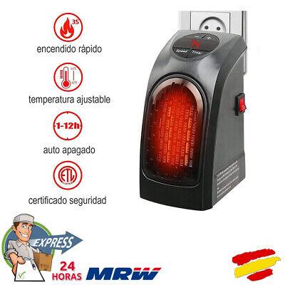 Mini estufa calefactor Eléctrico portátil Hogar Oficina Baño Handy Heater 400W