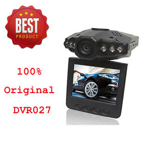 Original DVR027 HD720P IR Car Vehicle In Dash Camera Cam DVR Recorder HDMI