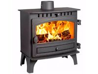 Hunter Herald 8 Slimline Multi-fuel stove, >8kW