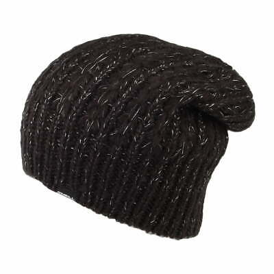 O'Neill Hats Annie Cable Knit Beanie Hat - Black