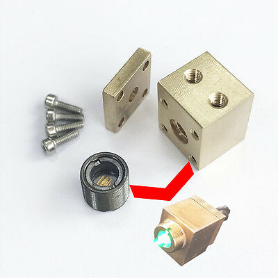 Brass Laser Module Housing For 5.6mm To-18 Ld With 505nm-550nm Glass Lens