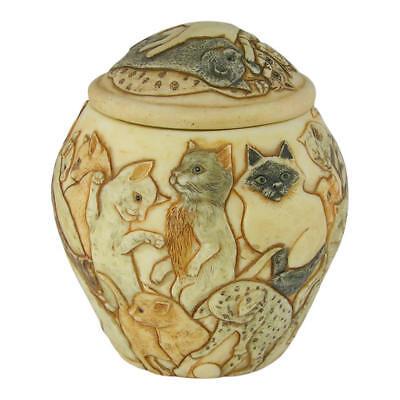 Perfect Memorials Cats Galore Pet Cremation Urn