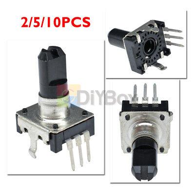 2510pcs Ec12 Rotary Encoder Audio Digital Potentiometer 5mm Handle