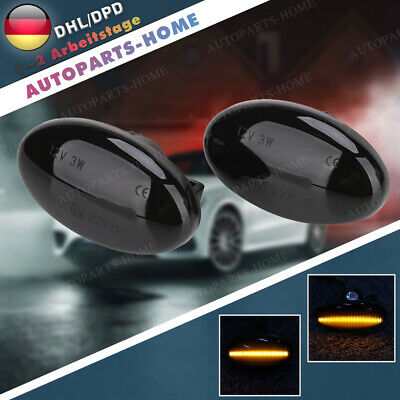 LED Dynamische Seitenblinker für Mercedes W168 Citan 415 Viano W639 Smart 450 AH