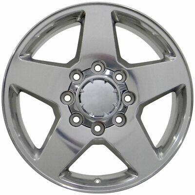 Wheel 2011-2018 Chevrolet Silverado 2500 HD 20 Inch Aluminum Rim 8 Lug 180mm