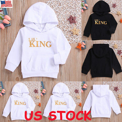 US Newborn Toddler Baby Girl Boy Winter Warm Clothes Hoodie Tops Sweatshirt Coat Baby Boy Winter Coats