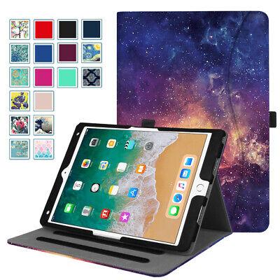 For iPad Air 10.5'' 3rd Gen 2019 Folio Case Multi-Angle Stand Cover Sleep/Wake 3rd Gen Ipad Folio
