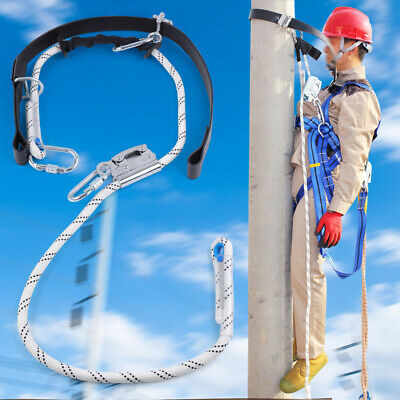 Fall Protection Construction Harness Full Body Safety Search 100 Kg Capacity
