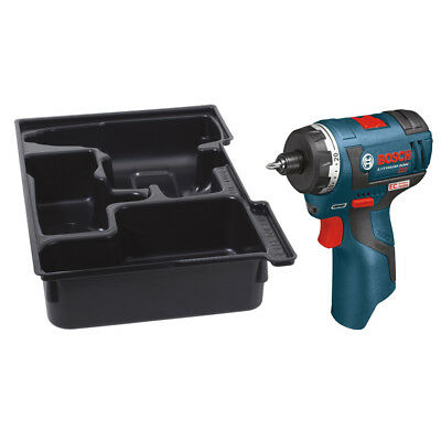 Bosch 12V Max Li-Ion Brushless Pocket Driver(Bare Tool) + LBOXX Tray PS22BN New