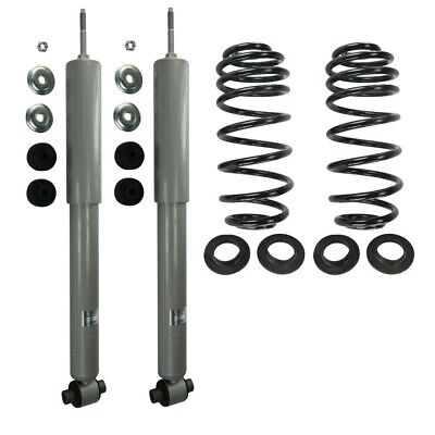 Air to Coil Spring Conversion Kit Rear Left Right for Ford, Lincoln, (Coil Spring Conversion Kit)