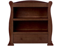 Sleigh Dresser in Dark Finish toys r us baby changer unit table changing