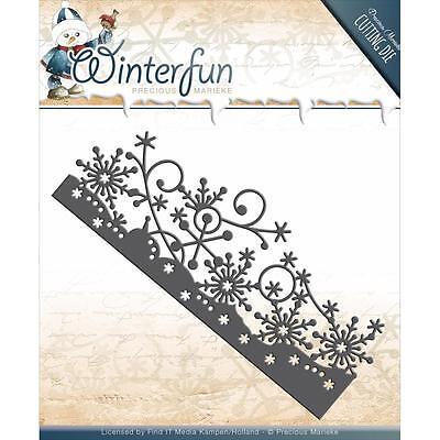 Snowflake Border Die WINTER FUN Die Cutting Die Find It Trading PM10077 New](Winter Borders)