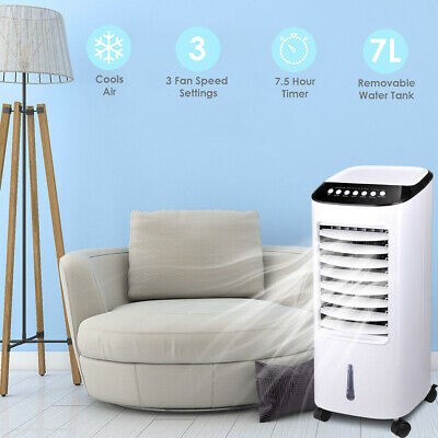 Portable Air Conditioning Unit Conditioner Evaporative Cooler Fan Remote Control