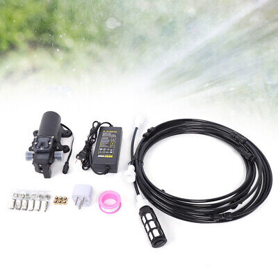 Home Water Pump Sprayer5lmin Misting High Pressure Water Spray Booster 12v Us