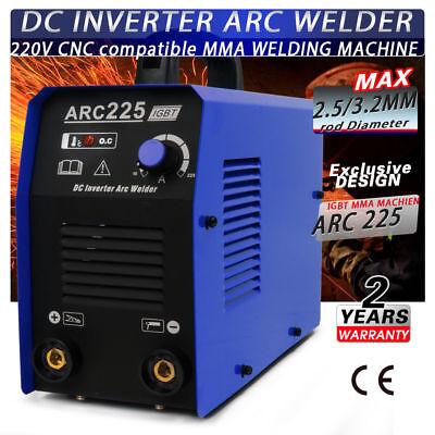 110220v Arc225 Portable Mma Arc Welder Welding Machine Soldering Inverter 2018
