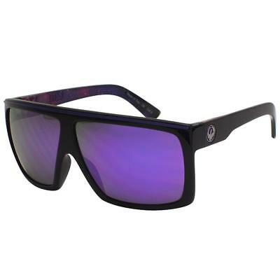 Dragon Fame Sunglasses - Black Purple Nebula Frame w/ Purple Ion Lens 720-2157