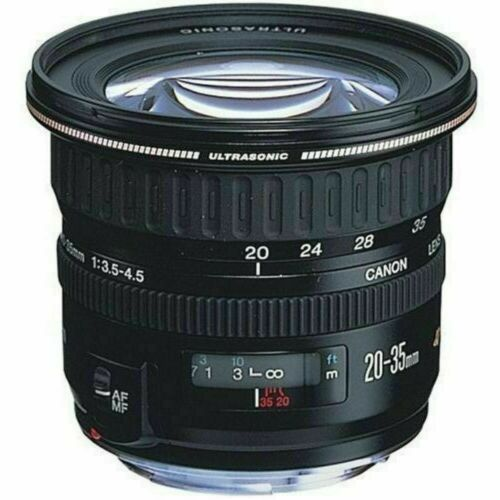 Canon Zoom Super Wide Angle EF 20-35mm f/3.5-4.5 USM Lens 2545A003 NOS