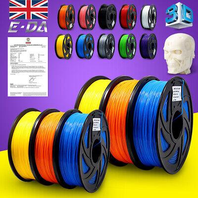 E-DA 3D Printer Filament ABS  PLA PETG 1.75mm - 1KG Various Colours Available