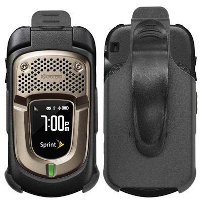 For Sprint Kyocera DuraXT E4277 Black Swivel Belt Clip Holster