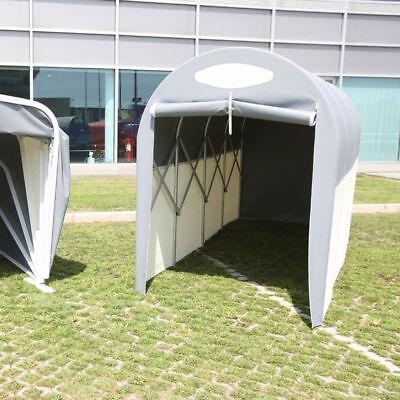 Box Pavillon (Box Moto a Tunnel Copertura in PVC per Moto Scooter garage casetta attrezzi ripa)