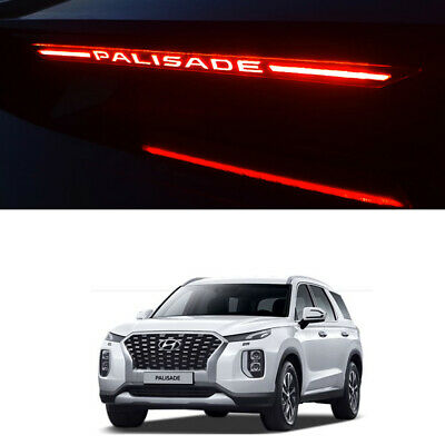 Brake Light Trim Cover Mask Black color For Hyundai Palisade 2019~2020+