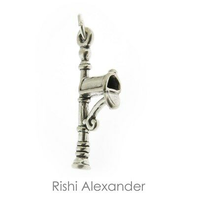 925 Sterling Silver Mailbox Charm Made in USA
