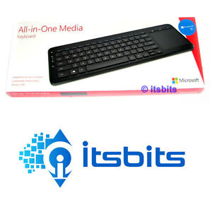 MICROSOFT WIRELESS ALL-IN-ONE MEDIA KEYBOARD WITH MULTI-TOUCH TRACKPAD WIN10