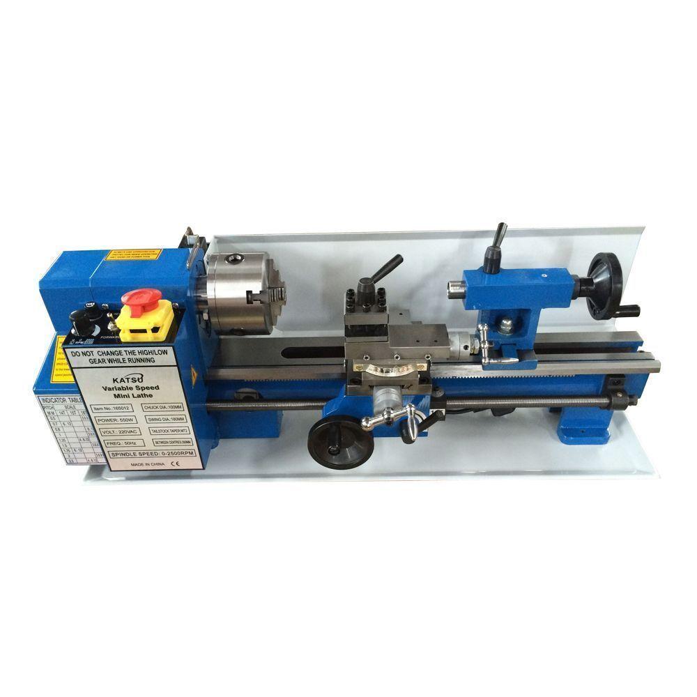 Drehmaschine Drehbank Perlen Polier Poliermaschine Metal Holz Lathe 1200-7000r//m