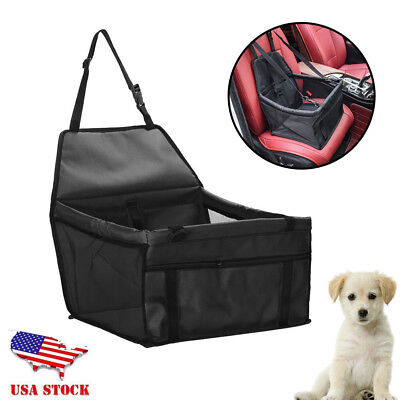 Folding Pet Dog Cat Car Seat Travel Carrier Kennel Puppy Handbag Sided Bag GIFT
