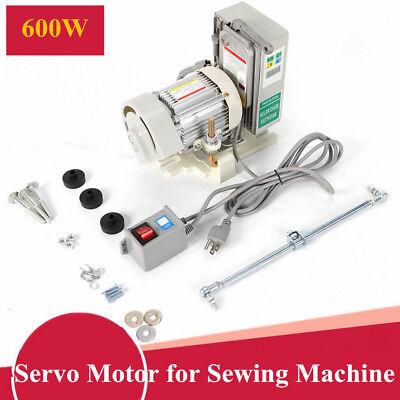 VEVOR VR-550 Brushless Sewing Machine Servo Motor W// Needle Positioner 550 Watts