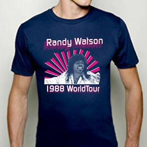 RANDY-WATSON-WORLD-TOUR-funny-coming-to-america-movie-80s-tee-MENS-T-shirt-H216