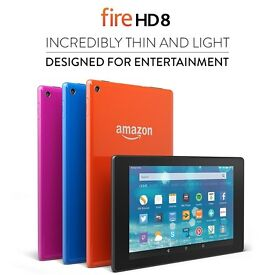 Amazon Fire HD 8 16GB Tablet - Black