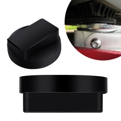 Black Rubber Car Jacking Jack Pad Adaptor Tool Sill Damage