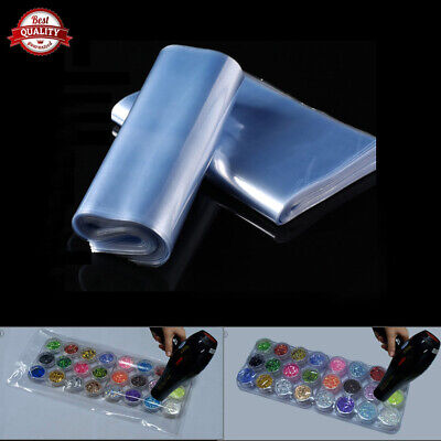 Multi-size Heat Shrink Wrap Films Heating Seal Packaging Protectors Bags Us