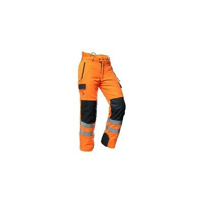 Pfanner HiViz Orange Type C class 2 Chainsaw Trouser GO/RT Rail X Large Inc VAT