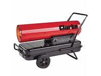 clarke xr160 space heater- takes diesel