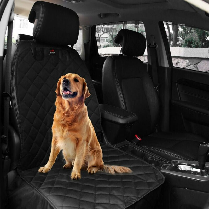 Waterproof Pet Dog Car Seat Cover Cars Trucks Non Slip Front Protector Quilted