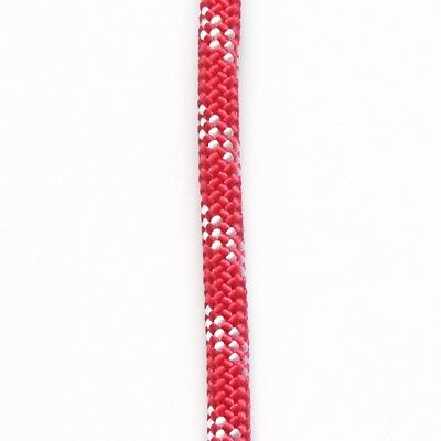 """ATAR Static kernmantle rescue rope 7/16"""" 11mm x 50ft Fire Red UL ANSI NFPA"""