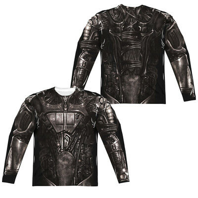 Star Trek Next Generation BORG COSTUME 2-Sided Print Long Sleeve Poly - Star Trek Borg Costume