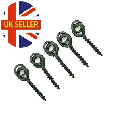 NEW Carp Bait Screws with 3.6mm ring chod ronnie pop ups terminal fishing tackle