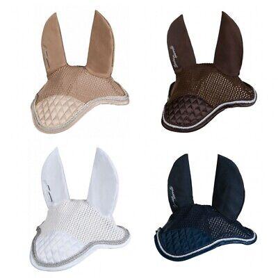 Zowie Gr/ö/ße Full//Warmblut mit Ohrenschutz f/ür Pferde mit Kordel-Verzierung in 4 Farben PFIFF Fliegenhaube