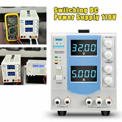 0-32v 0-5a Led Display Lab Dc Power Supply Variable Linear Adjustable Mch305db