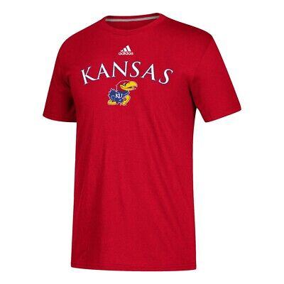 Kansas Jayhawks NCAA Adidas Red Sideline
