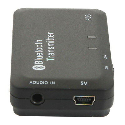 USB 5.0V Wireless Bluetooth Transmitter A2DP 3.5mm Stereo Audio Dongle Adapter