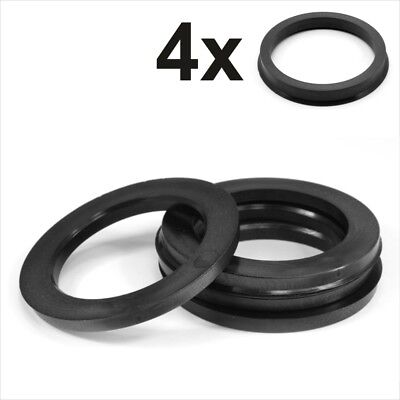 Set 4x Spigot Rings 106,0-78,1 Alloy Wheel Hub centric spacer 106.0 to 78.1 mm
